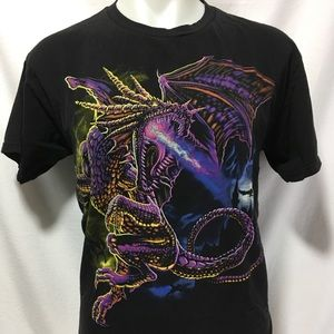 Men's Large Dragon Shirt